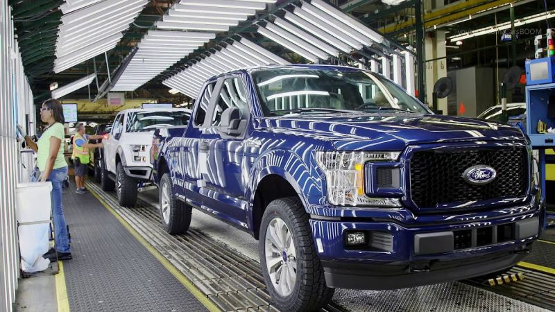 Ford Will Assemble the Popular F-150 Pickup Without Some Parts Due to Ongoing Chip Shortages