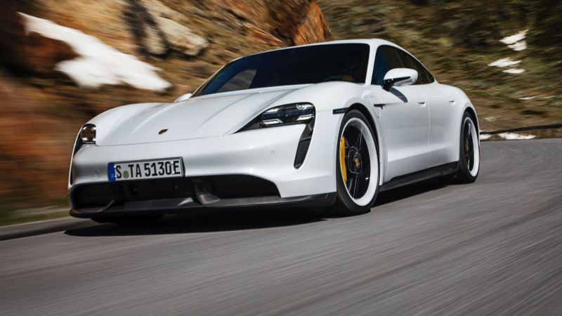 Porsche is Offering Free OTA Software Updates for Early Taycan Owners