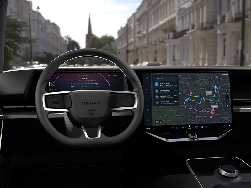 TomTom Announces 'Navigation for Automotive' a Cloud-based Solution for Automakers