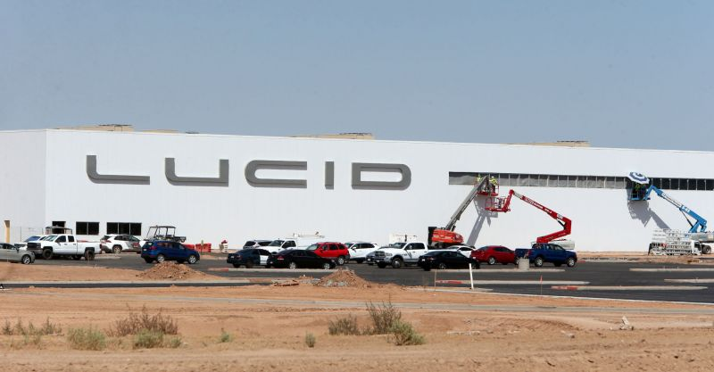 Lucid Motors Shares a New Video of the Vehicle Production Process at its EV Factory in Arizona