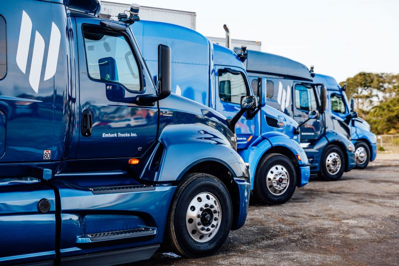 Autonomous Truck Startup Embark Launches the 'Embark Universal Interface' That Works With Different Truck Manufacturers to Make Them Capable of Self-Driving