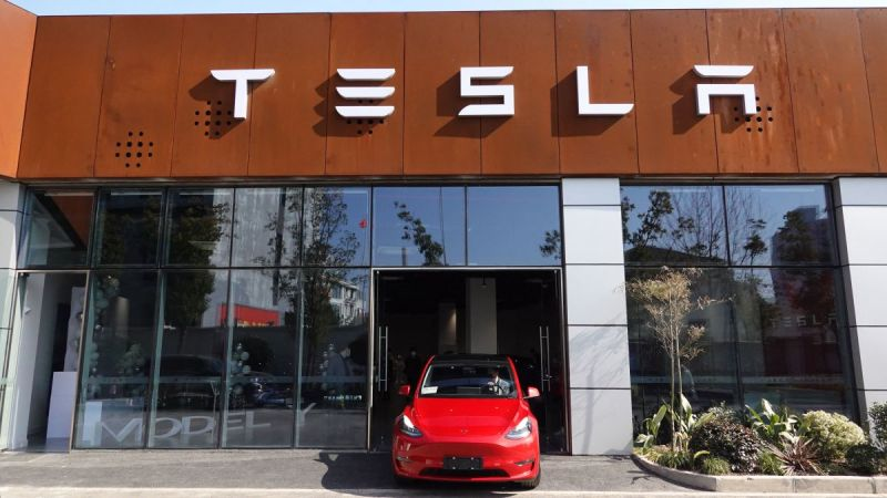 Tesla Stock Surges on the First Trading Day After the Company Reported Strong Q1 Deliveries