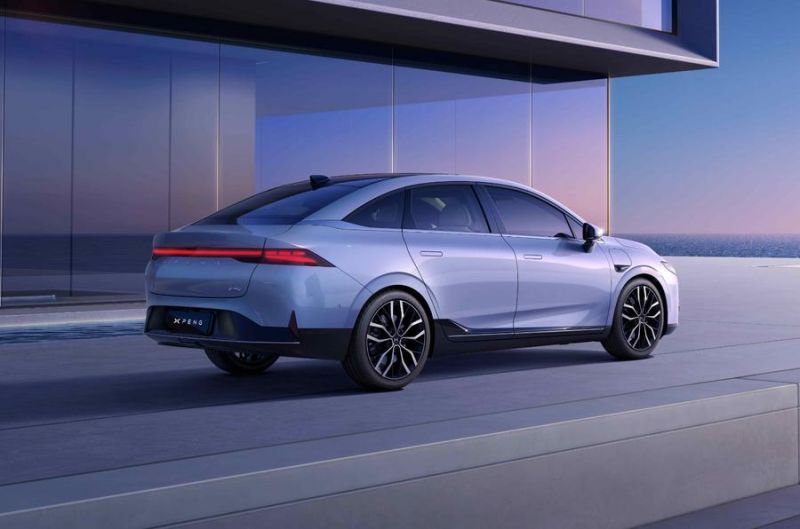 China's Tesla Challenger Xpeng Reveals its New P5 Fastback, the World's First Production EV Equipped with Lidar for Autonomous Driving