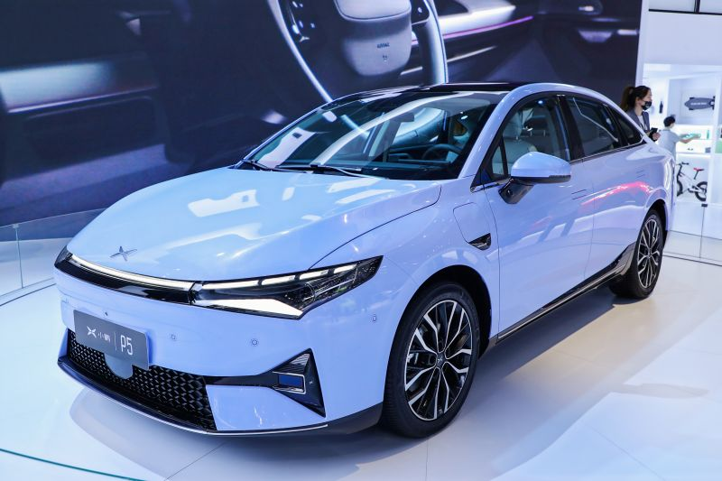 China's Tesla Challenger Xpeng Opens Orders for the New P5 Sedan, the Company's Third EV
