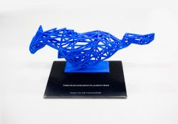 First Edition Mach-E Buyers Are Getting a 3D-Printed Pony Sculpture as a Gift From Ford