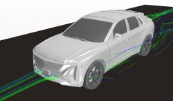 General Motors Accelerated the Development of the Cadillac LYRIQ Using Virtual Engineering Tools