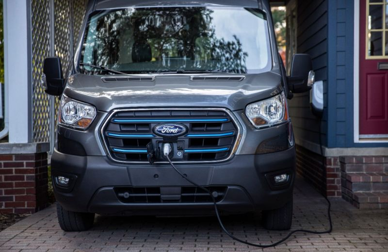 Ford Opens Registration Site for its New Lineup of E-Transit Commercial Electric Vans