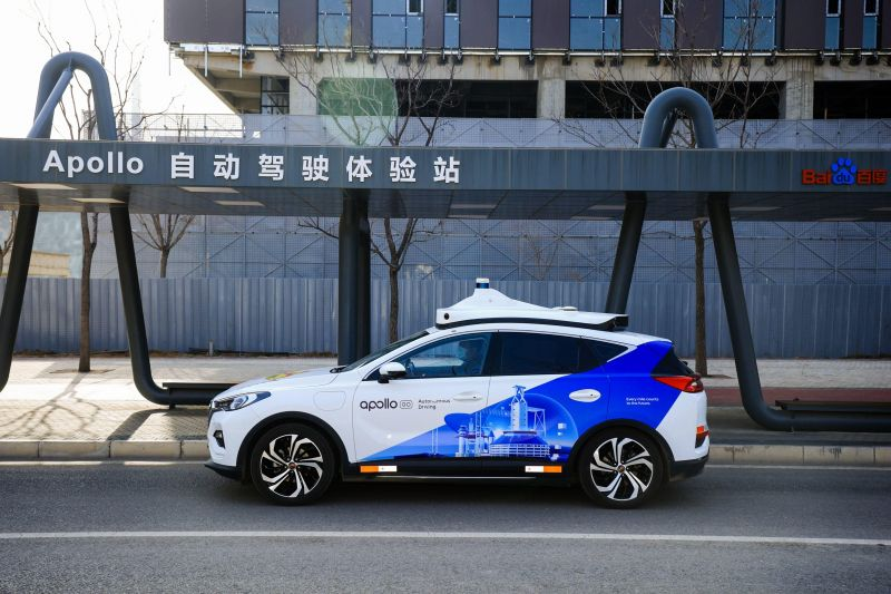 China's Baidu Announces 'Apollo Air' Which Supports Self-driving Vehicles Using Real-time Data From 5G-Connected Roadside Units