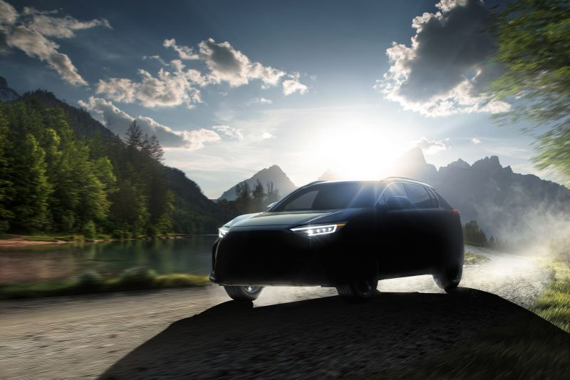 The Solterra SUV Will Be Subaru's First Electric Model