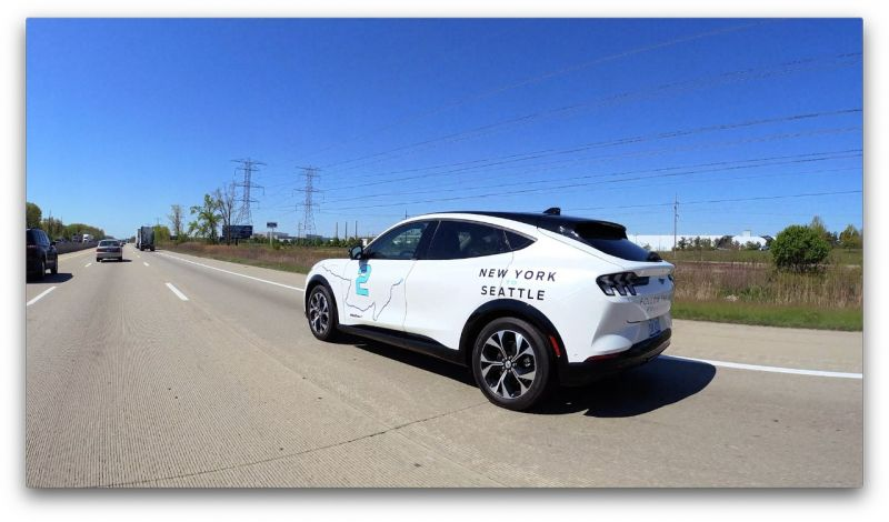 Ford is Taking its Electric Mach-E SUV on a 6,500-Mile Cross Country Trip to Demonstrate its Capabilities & Technology