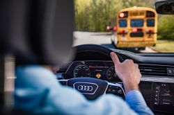 Audi and its Partners Demonstrate C-V2X Connected Vehicle Technology to Increase Safety Around School Buses