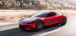 Tesla Chief Elon Musk Claims the Redesigned Roadster With SpaceX Package Will Hit 60 MPH in 1.1 Second