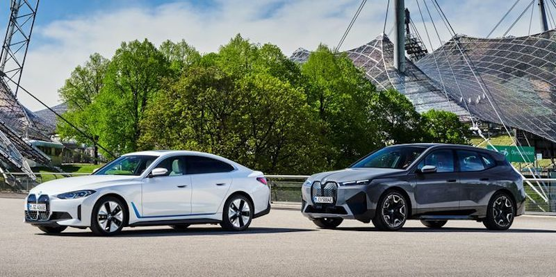 BMW Releases Pricing, Specs for 2022 i4 and iX EVs