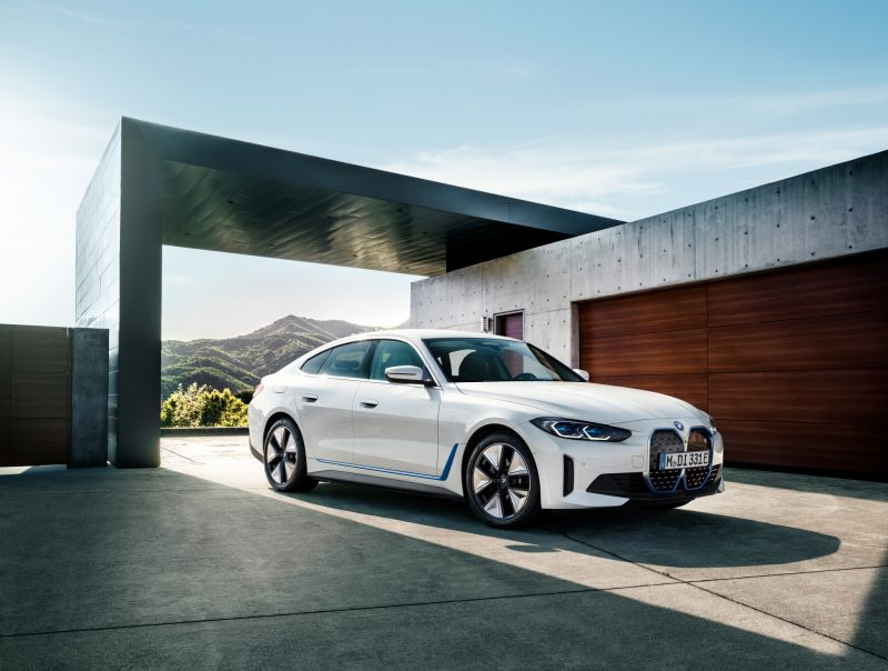 BMW Shares New Details & Pricing for the Electric i4 Sedan, Will Start at $55,400 in the U.S.