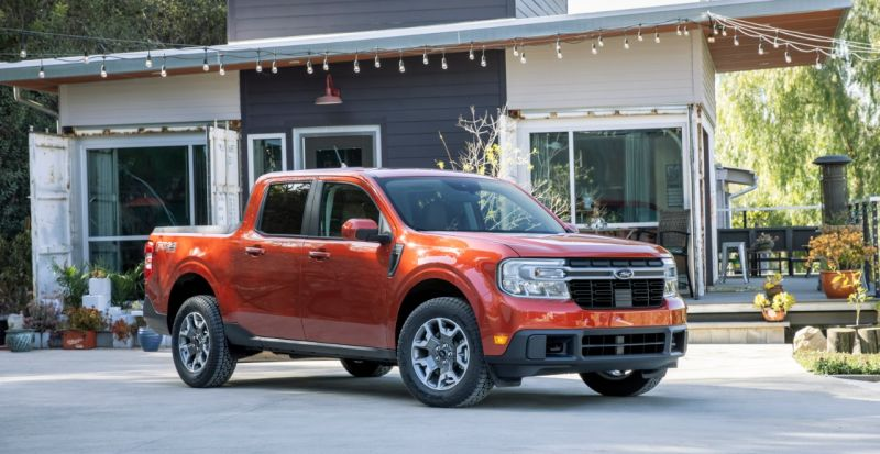 Ford Reveals the Maverick Pickup With Standard Hybrid Powertrain Starting at Just $19,995