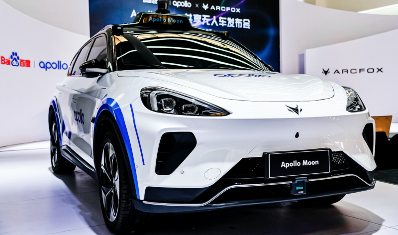 Baidu Inc. to Deploy 1,000 'Apollo Moon' Level-4 Robotaxis Over the Next 3 Years in China