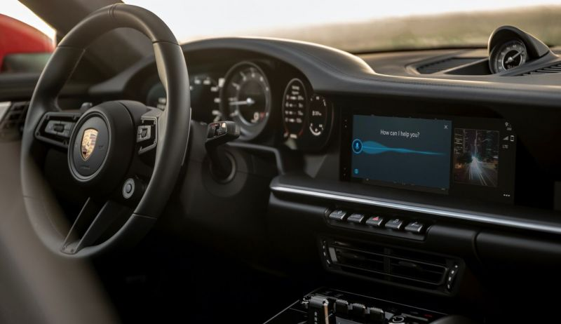 Porsche Unveils its 6th Generation Infotainment System with Android Auto & Voice Support