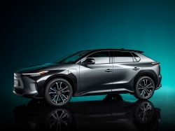 Here's What We Know About Toyota's New bZ4X Concept Electric SUV