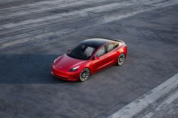 Tesla Model 3 Tops Chart as Most American-Made Car