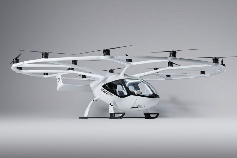 German eVTOL Air Taxi Developer Volocopter Secures Key Production Approval With New Acquisition