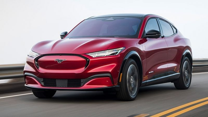 Ford's Electric Mach-E Takes First Place in the Inaugural 'Electric Vehicle of the Year Award'