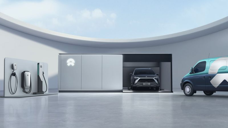 China's Tesla Challenger NIO Inc. Plans to Have 4,000 EV Battery Swapping Stations Online by 2025