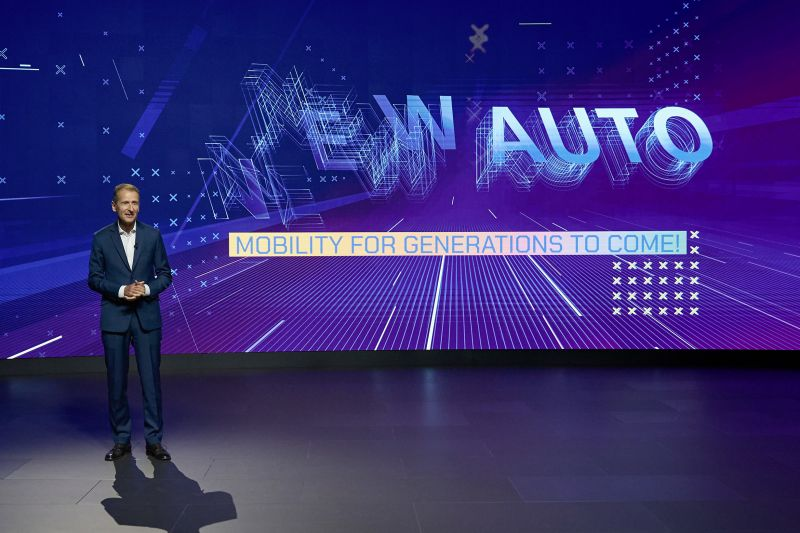 Volkswagen Shares its Bold 'NEW AUTO' Strategy, Which Includes Building Millions of Software-Based EVs
