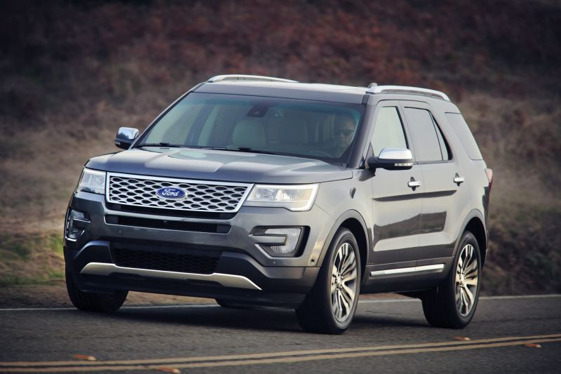 Ford Motor Co is Recalling Nearly 775,000 Ford Explorer Models a Second Time for Rear Suspension Problem