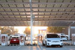Tesla Plans to Let Other EVs Use its Superchargers