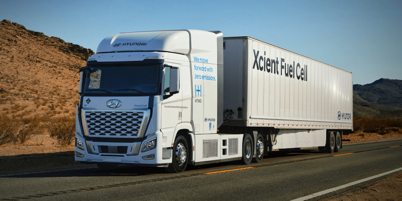 Hyundai's XCIENT Fuel Cell Trucks Hitting the Road in California in the Largest Deployment of the Technology in the U.S.