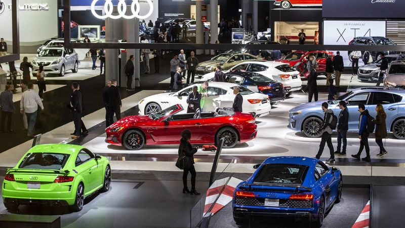 The 2021 New York International Auto Show Cancelled Due to Rising Delta Variant Covid Cases