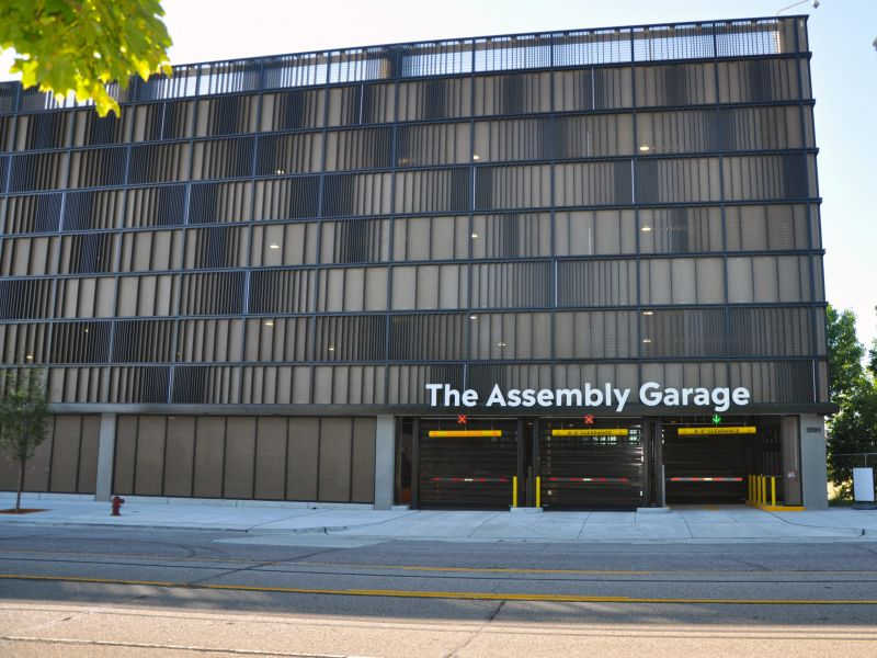 Ford Motor Co and Partners are Opening a 'Smart Parking Lab' in a Detroit Parking Garage to Test Automated Parking, EV Charging