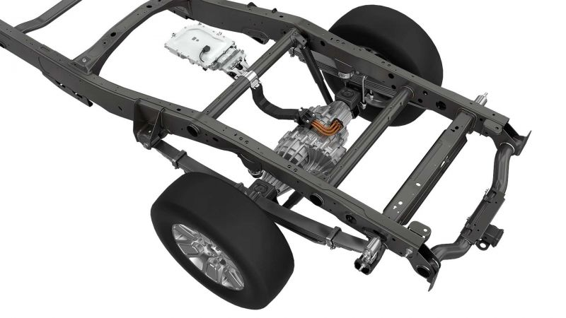 Magna's Proprietary 'eBeam' Axle Tech is a Novel Solution to Electrify Pickup Trucks