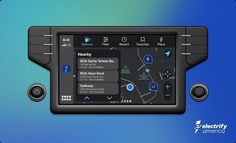 Electrify America Adds Smartphone Compatibility To Help EV Owners Find Chargers