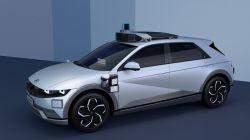 Hyundai and its Autonomous Driving Partner Motional Reveal the Next-Generation IONIQ 5 Robotaxi