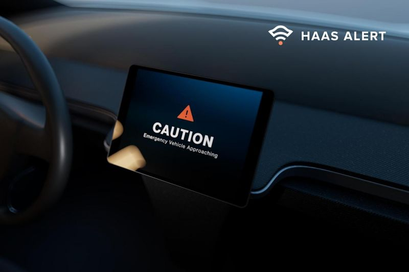 HAAS Alert Raises $5 Million to Expand its Cellular Emergency Vehicle Alert Network in the U.S.