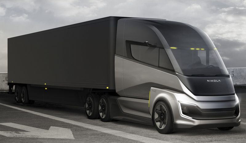 Hydrogen-Electric Truck Maker Nikola Corp Announces Major Fuel Cell Production Agreement with Bosch