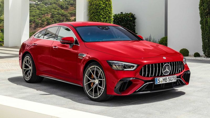 The New Mercedes-Benz AMG GT63 S E Plug-in Hybrid is the Most Powerful AMG Model Ever Made