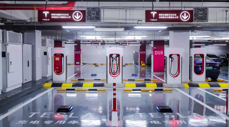 Tesla Completes Construction of its Shanghai V3 Supercharger Factory, Enters Final Testing Phase