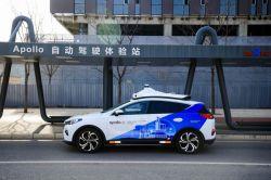 China's Baidu Inc. Opens its 'Apollo Go' Robotaxi Service in Shanghai
