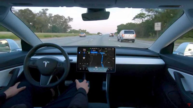 Tesla to Add a 'Beta Request' Button to its Full-Self Driving Feature Next Week to Open it to More Drivers