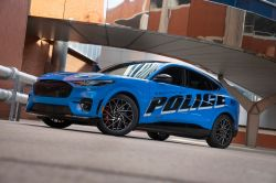Ford Transforms the Electric Mach-E into a Michigan State Police Vehicle for a New Pilot