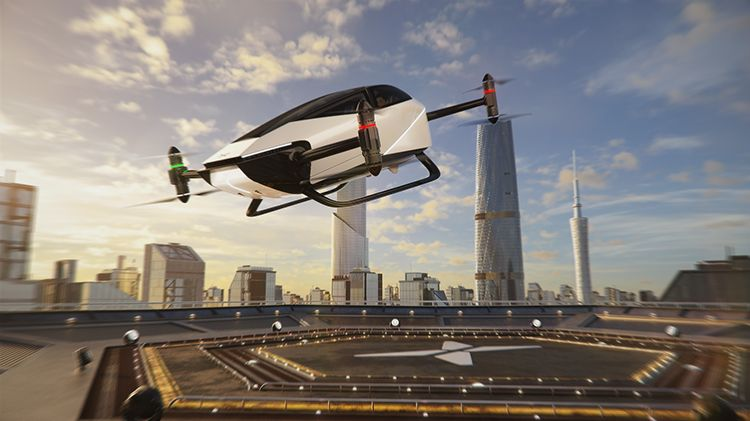 HT Aero, an Aviation Company Backed by Chinese EV Startup XPeng, Details its Latest 'Flying Vehicle' Named the X2