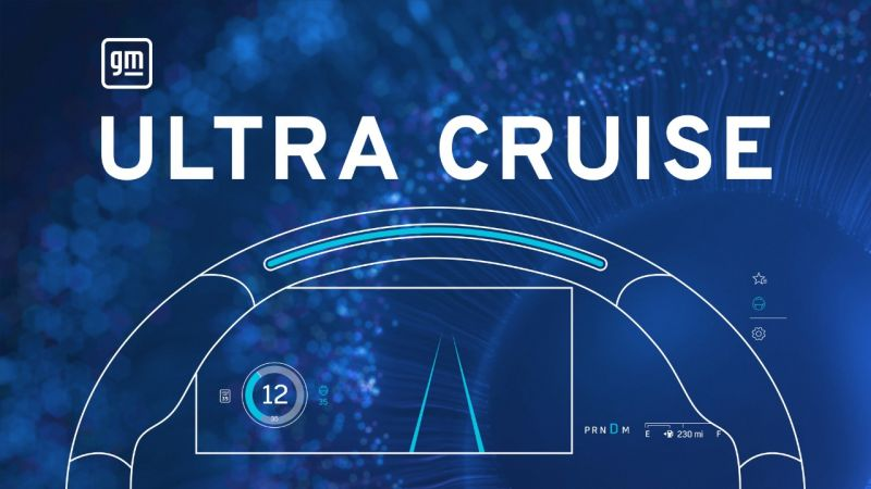 GM Announces 'Ultra Cruise', its All-New Autonomous Driving Feature That Will Enable Hands-Free Driving on All Public Paved Roads in the U.S. & Canada