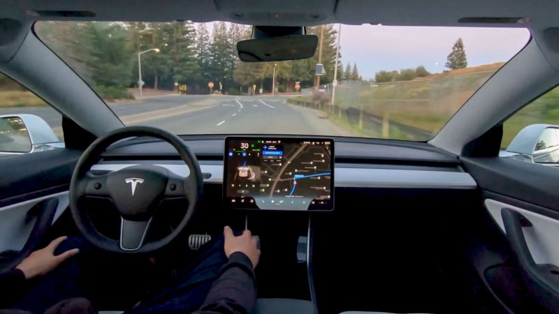 Tesla's Full Self Driving Beta Rolling Out to More 'Good Drivers'