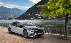 Mercedes-Benz EQS Gets an EPA Estimated Range of 350 Miles