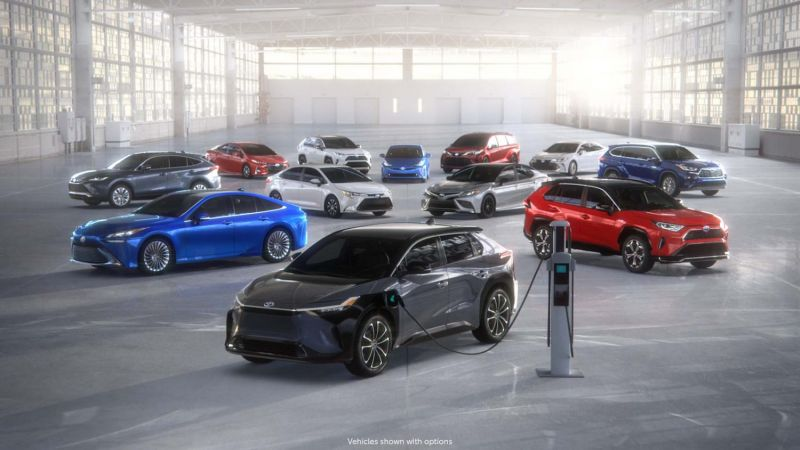 Toyota to Invest $3.4 Billion Through 2030 in Electric Vehicle Battery Production in the U.S.