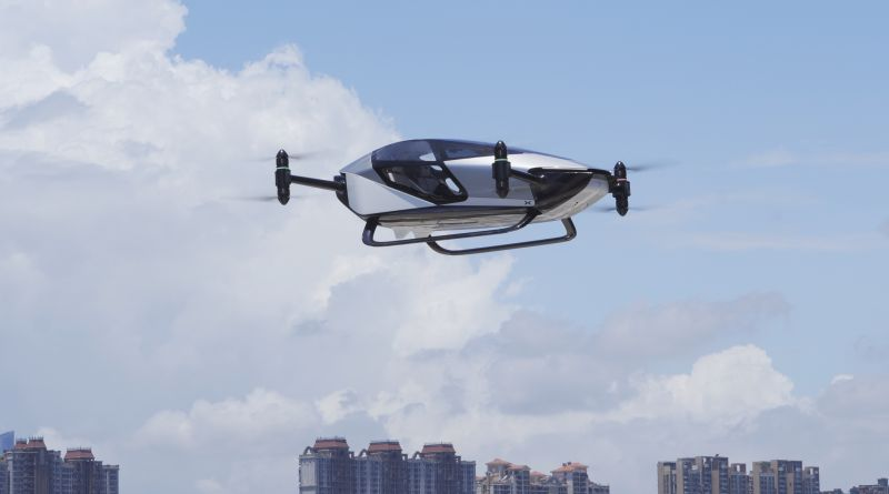 XPeng's Urban Air Mobility Affiliate HT Aero to Raise $500+ Million in Series A Funding Round
